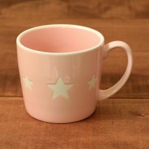 マグカップ 300cc  ポラリス ピンク (アウトレット) マグ コップ コーヒーカップ コーヒーマグ ティーカップ 食器 おしゃれ 洋食器|t-east