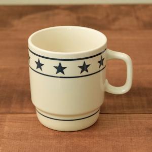 マグカップ 350cc  TenStar ネイビー (アウトレット) マグ コップ コーヒーカップ コーヒーマグ ティーカップ 食器 おしゃれ 洋食器|t-east