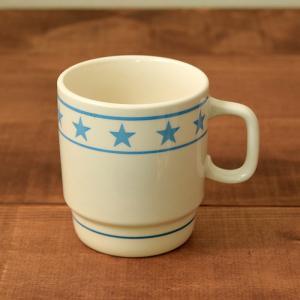 マグカップ 350cc  TenStar ブルー (アウトレット) マグ コップ コーヒーカップ コーヒーマグ ティーカップ 食器 おしゃれ 洋食器|t-east
