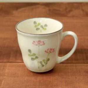 和風マグカップ 300cc  れんげ (アウトレット) マグ コップ コーヒーカップ コーヒーマグ ティーカップ 食器 おしゃれ 洋食器|t-east