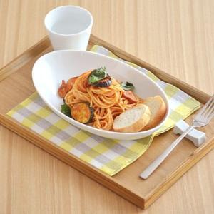 カレー皿 Style(スタイル) オーバルボウル クリアホワイト (アウトレット)カレー皿 楕円 パスタボウル 白い食器 パスタ皿 楕円鉢 ボウル|t-east
