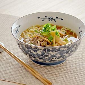だみ唐草 麺鉢        ラ-メン丼 中華鉢 大鉢 和食器 丼ぶり めん鉢