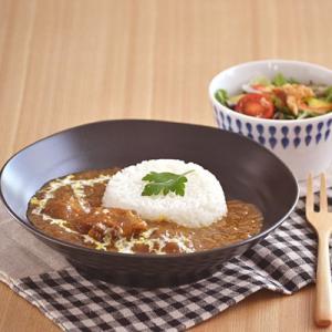 (黒マット)EASTパスタ皿・カレー皿