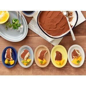 小皿 ドットオーバルプレート12cm お皿 小皿 皿 プレート 取り皿 サラダ皿 副菜皿 前菜プレート おつまみ皿 デザート皿 楕円皿 洋食器 おしゃれな食器|t-east|05