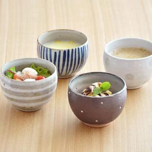 和食器 土物のゆったり碗 お椀 手造り 手作り カフェ食器 湯呑み スープボウル 小鉢 ボウル 日本製 美濃焼 おしゃれ かわいい|t-east