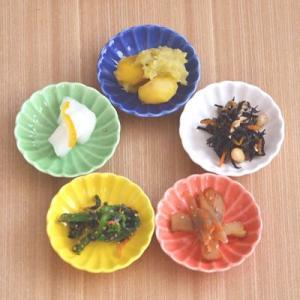和食器 花型 豆皿 菊の花 アウトレット 小皿 和の小皿 カラフルな小皿 まめ皿 花型 醤油皿 薬味皿 珍味皿 しょうゆ小皿 美濃焼 日本製|t-east