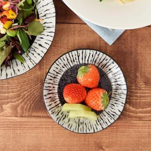 小皿 12cm 油滴ブラック 和食器 お皿 小皿 皿 プレート 取り皿 醤油皿 漬物皿 副菜皿 前菜...