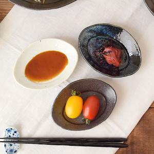 楕円小皿 12cm 月光 和食器 和食器 小皿 お皿 白い食器 楕円 取り皿 お菓子皿 楕円皿 デザ...