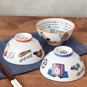 ご飯茶碗 12cm 軽量 スポーツ柄 子供食器 子供用食器 こども食器 こども用食器 キッズ食器 お茶碗 茶碗 おちゃわん 茶わん ライスボウル t-east