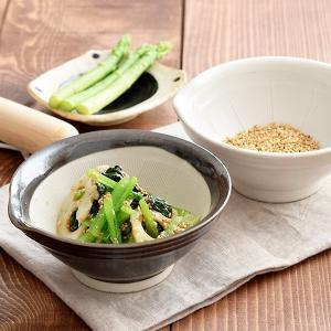 すり鉢 4寸片口すり鉢  和食器 食器 陶器 離乳食食器 すりばち スリ鉢 片口小鉢 日本製 美濃焼 マルホン ドレッシング ディップ|t-east