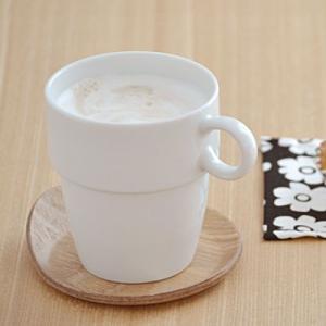 スタック トールマグカップ 230cc ホワイト マグ スタッキング コップ カップ スタッキング食器 白い食器 シンプル 白 日本製 美濃焼|t-east
