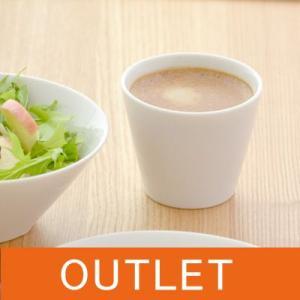 陶製コップ 白 カップ ホワイト Styleスタイル マルチカップ クリアホワイト 訳あり アウトレット 白い食器 洋食器 カフェ食器 シンプル|t-east