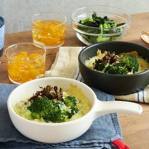 フライパン型グラタン皿 直火OK オーブンOK 直火対応 耐熱食器 オーブンウェア グラタン皿 おう...