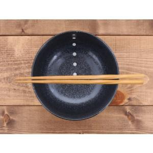 丼ぶり 和食器 水玉 お好みどんぶり (大) (ドットモノトーンシリーズ) 丼 どんぶり ボウル ラーメン 麺鉢 食器 おしゃれ|t-east|02