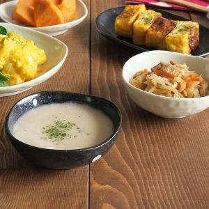 小鉢 水玉 ドット マルチボウル 三角3.5寸  和食器 取り皿 黒い食器 白い食器 ボウル アウトレット食器 美濃焼 陶器|t-east
