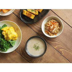 小鉢 水玉 ドット マルチボウル 三角3.5寸  和食器 取り皿 黒い食器 白い食器 ボウル アウトレット食器 美濃焼 陶器 t-east 05