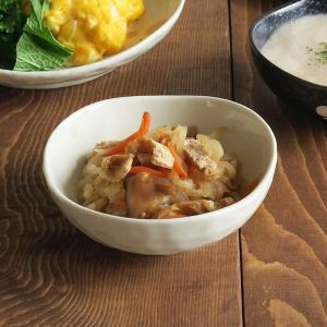 小鉢 水玉 ドット マルチボウル 三角3.5寸  和食器 取り皿 黒い食器 白い食器 ボウル アウトレット食器 美濃焼 陶器 t-east 06