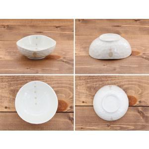 小鉢 水玉 ドット マルチボウル 三角3.5寸  和食器 取り皿 黒い食器 白い食器 ボウル アウトレット食器 美濃焼 陶器 t-east 08