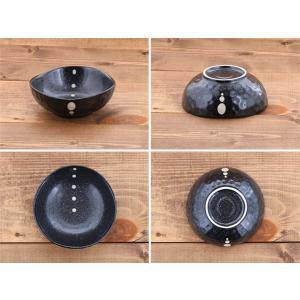 小鉢 水玉 ドット マルチボウル 三角3.5寸  和食器 取り皿 黒い食器 白い食器 ボウル アウトレット食器 美濃焼 陶器 t-east 09