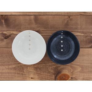 水玉 三角4.5寸鉢 13.8cm 和食器  小鉢 煮物鉢 鍋取り鉢 ボウル シンプル 和モダン ドット かわいい おしゃれ おうちごはん|t-east|06