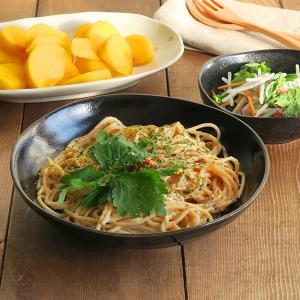 ゆず天目 パスタ皿  カレー皿 大鉢 盛り皿 クープ 黒いお皿 黒い食器 和食器 和皿 大皿 日本製 美濃焼 クール おしゃれ|t-east