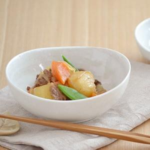 和食器 白 刷毛目 粉引 4.5寸鉢  小鉢 ボウル 鉢 和食器 和風 取り鉢 お皿 日本製 美濃焼 とんすい おしゃれ かわいい ホワイト|t-east