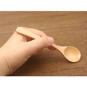木製スプーン カトラリー ハンドメイド 口当たりの良いなめらかな仕上がり ナチュラル ティースプーン こども食器 スプーン シンプル おしゃれ t-east 03
