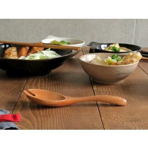 木製 鍋スプーンフォーク ナチュラル 木製スプーン 先割れスプーン カトラリー レンゲ 木 なべ用 スプーン フォーク シンプル かわいい おしゃれ|t-east|05