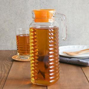 ガラスピッチャー 1L 冷蔵庫用 水差し 麦茶ポット 冷水ポット ウォータージャグ ピッチャー ジャグ ポット 麦茶入れ 水入れ 水出しボトル ウォーターカラフェ|t-east