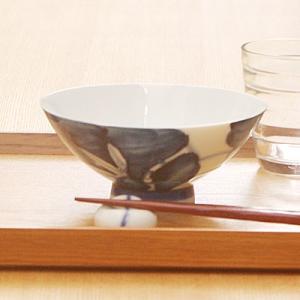 手描きのお茶碗 (一珍竹) (アウトレット) ご飯茶碗 飯碗 ちゃわん 和食器 茶わん 磁器 二音声 t-east