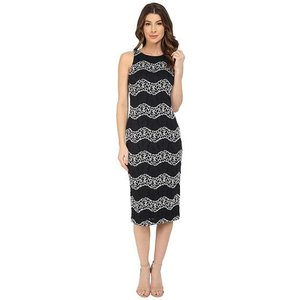 Maggy London Wave Lace Sheath ...