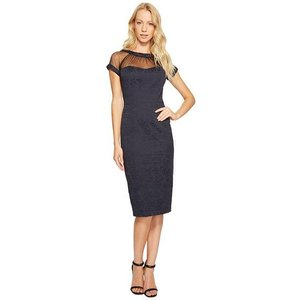 Maggy London Tossed Leaf Jacqu...