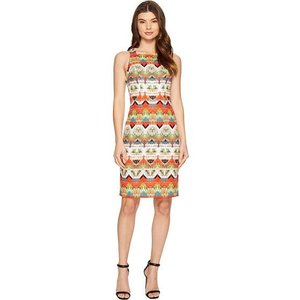 Maggy London Feather Ikat Stri...