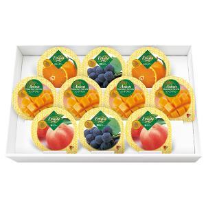 金澤兼六製菓 10個 マンゴープリン&フルーツゼリー ギフト 手土産 ご挨拶 プチギフト プリン ゼリー 詰め合わせ 人気 お祝い返し 内祝い 引き出物 法要 供物 t-gift-yasan