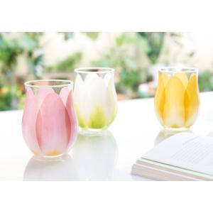 フロイド チューリップグラス2個セット  お祝い返し 内祝い 出産 快気 祝 新築 結婚 婚礼 引き出物 法要 供物|t-gift-yasan