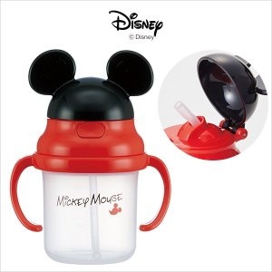 Disney ディズニー ストローホッパー両手マグ ミッキー ご挨拶 出産 快気 祝 新築 結婚 婚礼 引き出物 法要 供物 贈り物 ギフトの商品画像|ナビ