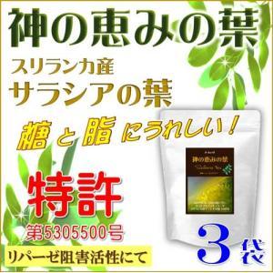 サラシア茶 神の恵みの葉 コタラヒムブツの葉 スリランカ産サラシアレティキュラータ 気になる糖と脂 ダイエットサポートに さらにお得な3袋セット 送料無料|t-herb