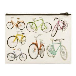 BlueQ社リサイクルジッパーポーチ  Bicycle t-home
