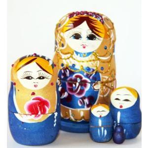 マトリョーシカ 5ピース Matryoshka doll|t-home
