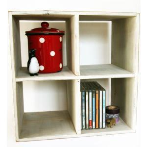 【アウトレット】リサイクルウッド コレクションラック Collection Shelf|t-home