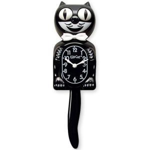 キットキャットクロック ブラック  Kit Cat Clock BLACK