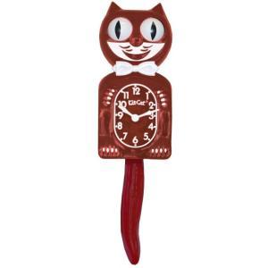 キットキャットクロック リミテッドエディション バーガンディー Kit Cat Clock Limited Edition Burgundy|t-home