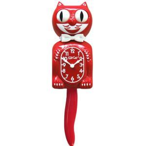 キットキャットクロック リミテッドエディション スカーレットレッド  Kit Cat Clock Limited Edition Scarlet Red