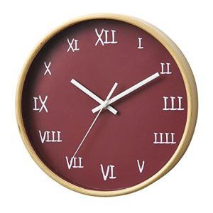 【アウトレット】パセオ掛け時計 レッド PACEO WALL CLOCK RED t-home