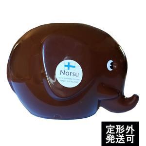 MK TRESMER ノルス エレファントバンク チョコレートブラウン フィンランド製の象の貯金箱|t-home