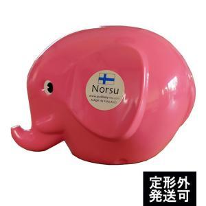 MK TRESMER ノルス エレファントバンク ローズピンク フィンランド製の象の貯金箱|t-home