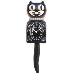 キットキャットクロック リミテッドエディション クラッシックブラックレディ  Kit Cat Clock Limited Edition Classic Black Lady|t-home