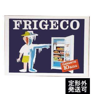 『FRIGECO 冷蔵庫』 レイモン・サヴィニャック(Raymond Savignac) のポスター サイズ50X70cm|t-home