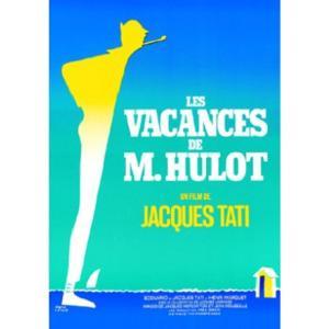 『LES VACANCES DE MONSIEUR HULOT ぼくの伯父さんの休暇(1) 』 ジャック・タチ(Jacques Tati ) のポスター サイズ90X61.5cm|t-home