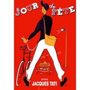 『JOUR DE FETE のんき大将 』 ジャック・タチ(Jacques Tati)ポスター サイズ90X61.5cm|t-home
